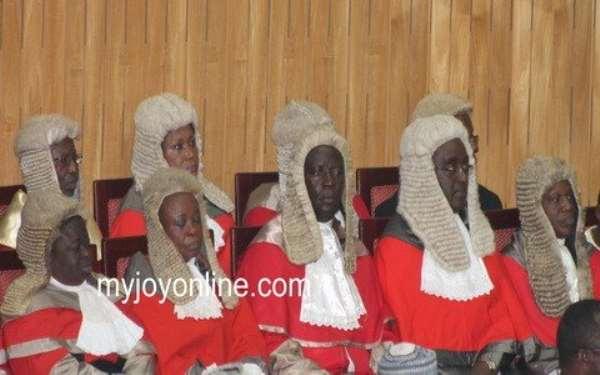 I wish judges wear African print, not black suit - Justice Torkornoo