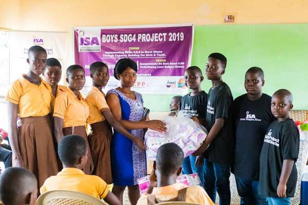 JSA Boys Empower Rural Girls & Youth At Annual SDG4 Project