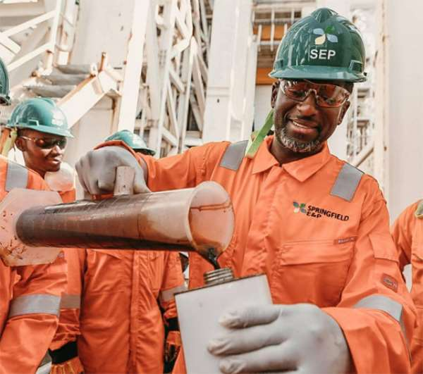 Springfield Discovers Oil Offshore Ghana