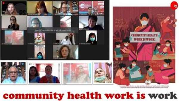 Community health work is work