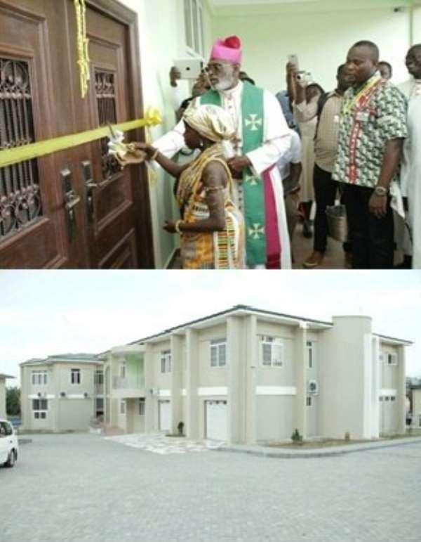 Catholic Diocese Unveils GHC1.9 million Secretariat