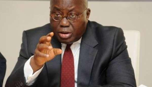 President Nana Akufo Addo: Photo credit, Ghana media