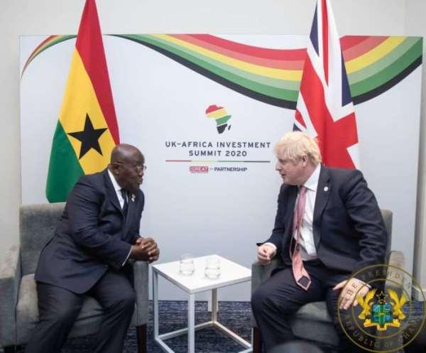 Ghana, UK Pledge To Strengthen Ties Of Co-operation