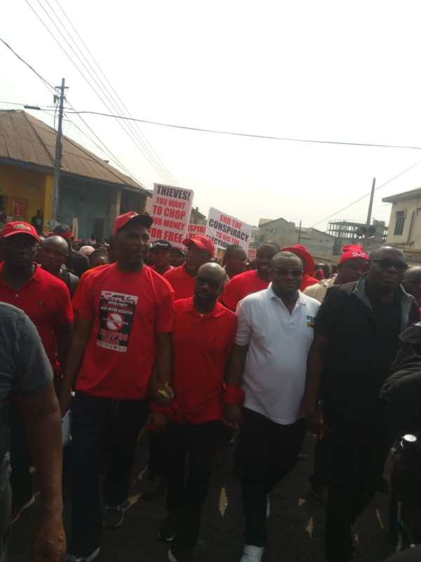 New Register: Stop The Conspiracy To Rig The 2020 Elections' - 'Yɛnpene' Protestors Alleges