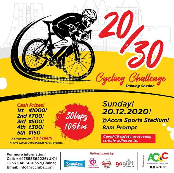 Africa Connect Cycling to hold December challenge ride