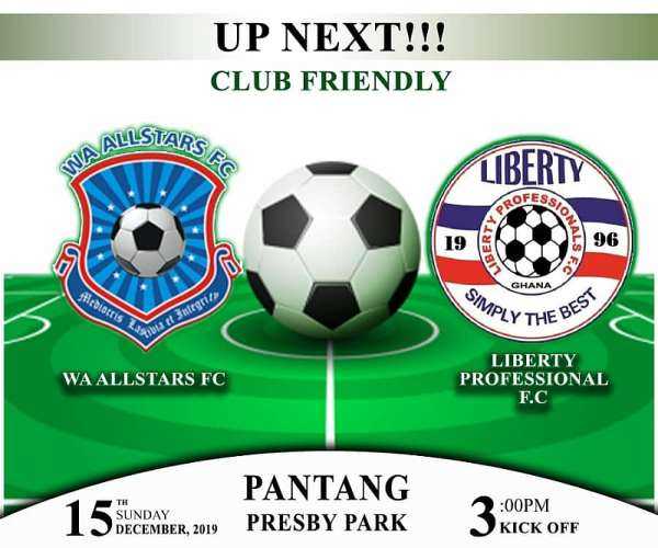 Pre-Season Friendly: Wa All Stars To Face Liberty Professionals On Sunday