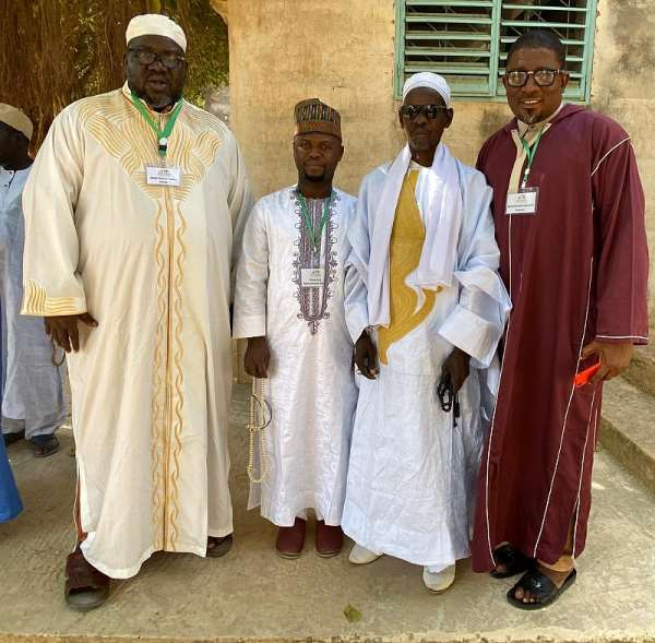 Group photo of participants at the training