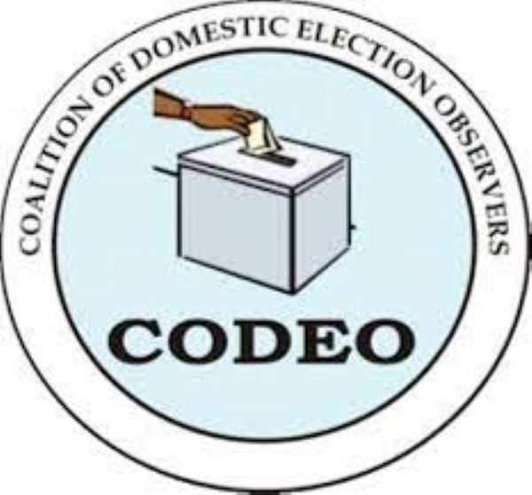 CODEO Preparatory Activities Towards 2019 District Level Elections