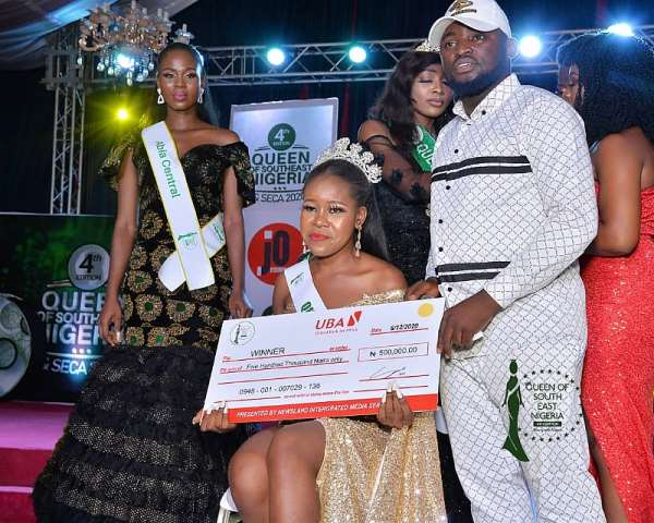 Miss Favour Maduka wins Queen of South East Nigeria Pageant 2020