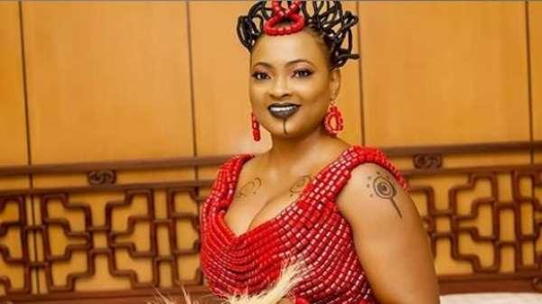 Actress, Naomi Nkechi Amara Celebrates 1 year Wedding Anniversary