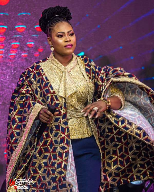 [Photos] Joyce Blessing Host Thousands At Doxazo Concert
