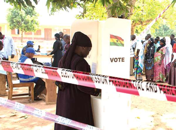 District Elections: Peaceful But Slow Enthusiasm