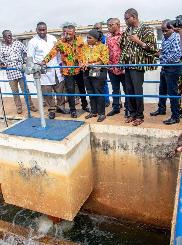 Ghana Water Company Makes Impressive Strides In Kumasi