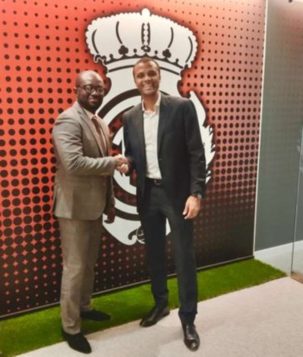 GFA Boss Holds Fruitful Discussion With Real Mallorca Boss