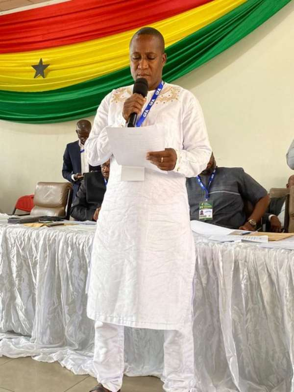 Salifu Zida Becomes Chairman Of Referees Committee After Winning Exco Seat
