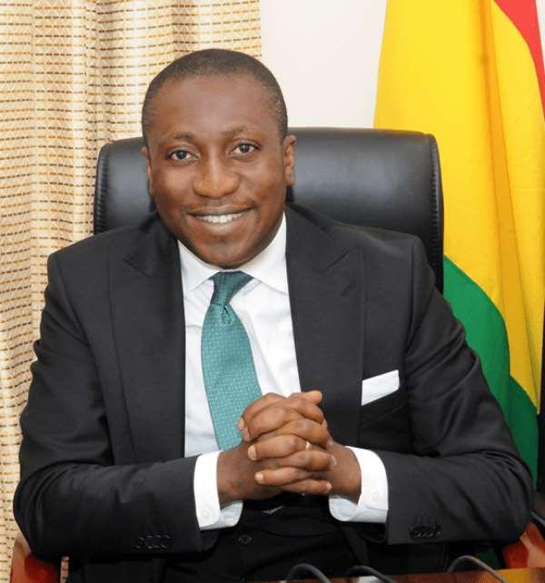 Hon. Alexander Kwamena Afenyo-Markin, the Member of Parliament for Efutu