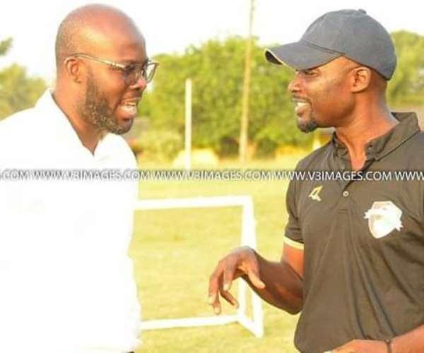 Coach Enos Adepa Officially Begins Karela United Job Today
