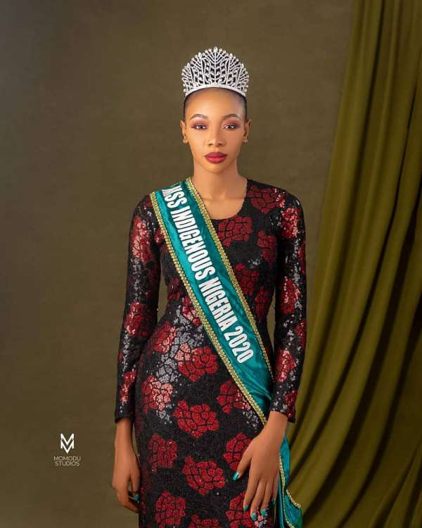 Queen Miracle Oluchi Emerges As New Miss Indigenous Nigeria 2020