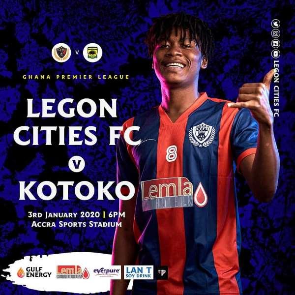 Match Preview: Legon Cities FC vs Asante Kotoko – GPL Match Week 2