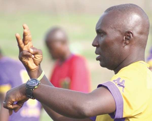 Odoom takes over Hearts but Tunisian coach linked to job
