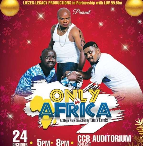 'Akua Donkor, Bishop Obinim, Shatta Wale', others star-in 'Only in Africa'