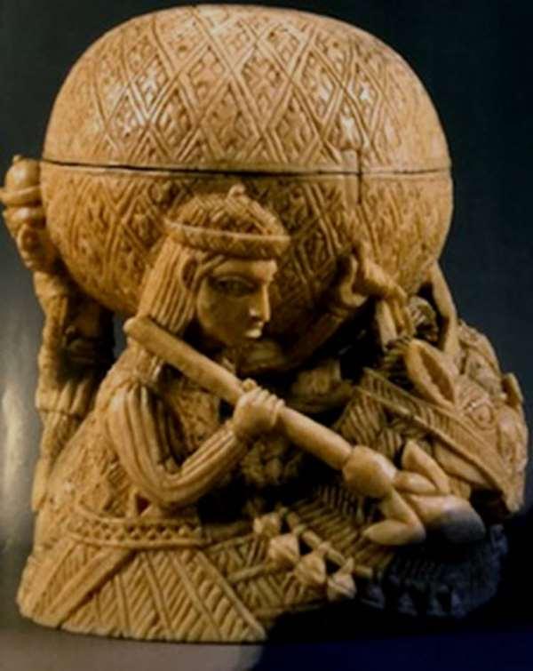 Saltcellar, Benin, Nigeria, now in Bode Museum, Berlin, Germany, on its way to Humboldt Forum, Berlin, Germany.