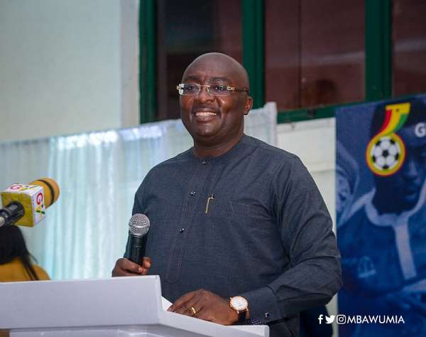 VP Bawumia launches new Ghana football season after reforms