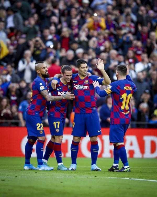 La Liga: Messi Scores 50th Goal Of 2019 In Barcelona Win