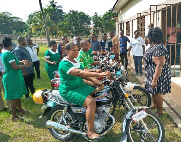 V/R: Ho West MP Donates Medical Equipments Worth Ghc70K To Health Directorate