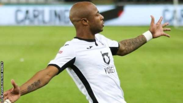 Ayew Scores For The Third Game Running As Swansea Beat Luton 1-0