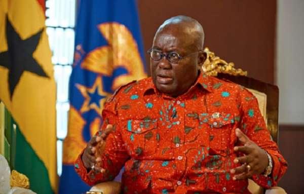 The President of Ghana, Nana Akufo Addo