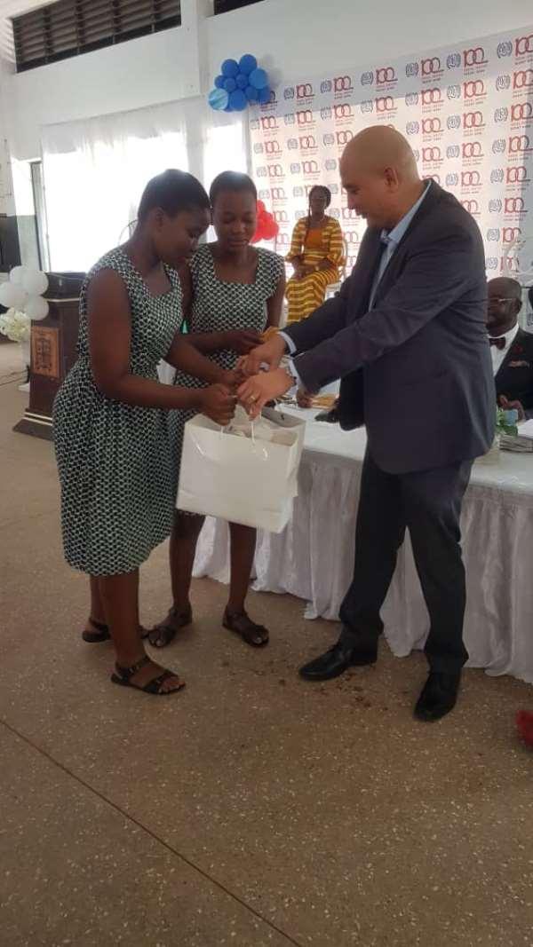 Accra Girls Senior High School Wins ILO @100 Quiz
