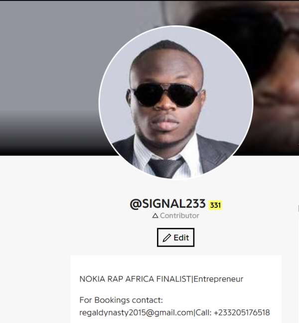 Ghanaian Rapper Signal Beats Jay-Z On Global Lyric Website & Tours New York