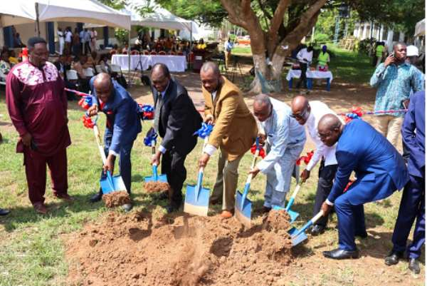 UPSA Cuts Sod For Projects
