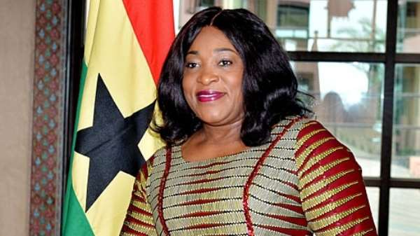 Ayorkor Botchwey deny claims she disrespected creative artists over comments against Dumelo