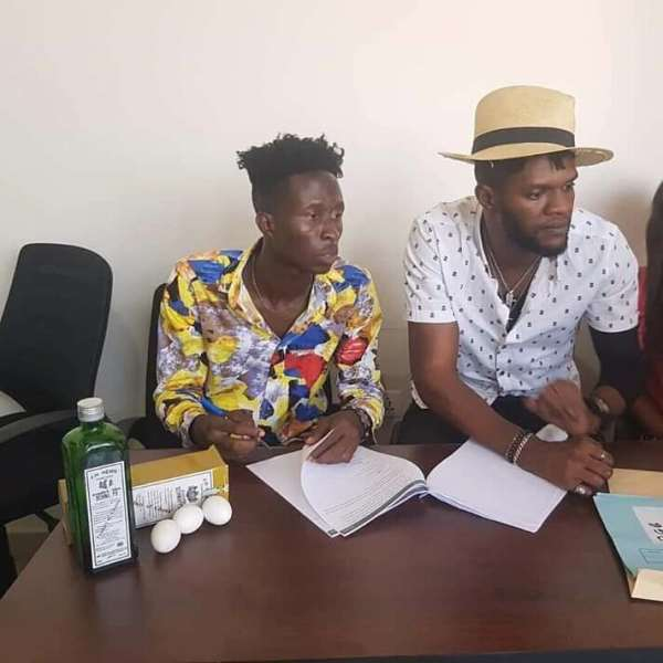 Ogidi Brown Signs New Artist With Schnapps, Eggs