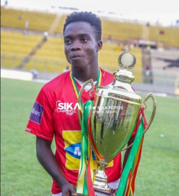 Matthew 'Messi' Cudjoe Earns Praises From Kotoko CEO George Amoako