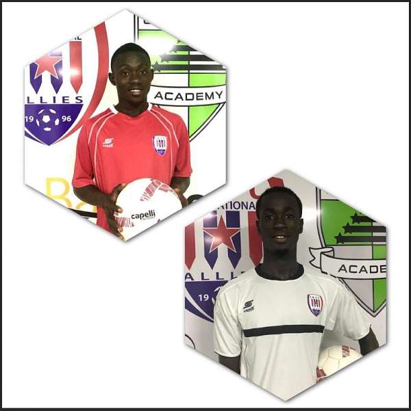 Inter Allies Complete Signings Of Defenders Richard Acquaah And Evans Osei