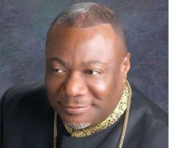 The Presiding Archbishop and General Overseer of the Action Chapel International, Nicholas Duncan-Williams