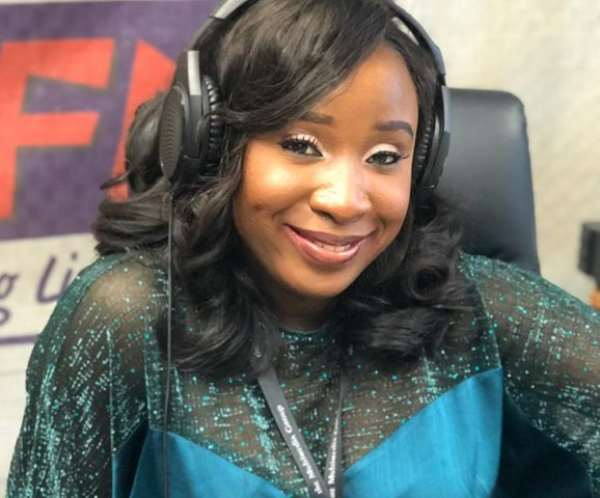 Naa Ashorkor, is the host of Showbiz A-Z