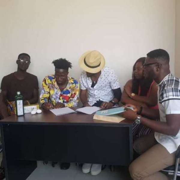 Ogidi Brown Signs Cryme Officer After Fameye Bow Out