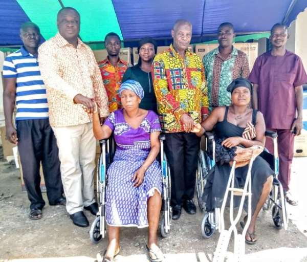Ada West District Spends ¢260,000 Of Common Fund On PWDs