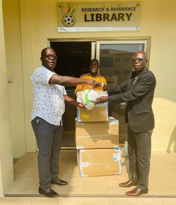 GFA Hands Over Matchday Balls To Premier League Clubs Ahead Of Opening Weekend