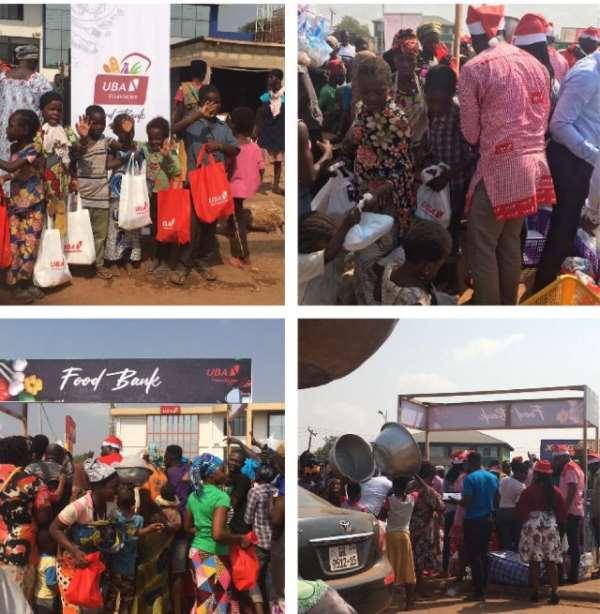 UBA Fetes 'Kayayei'; Street Kids To Mark Christmas