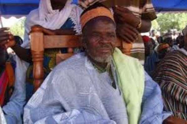 Over-Lord of the Bawku Traditional Area, Zug-Raan Bawku Naba Asigri Abugrago Azoka II