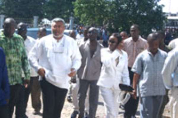 Save the Rawlingses from any affliction* Nana Konadu`s court case cited