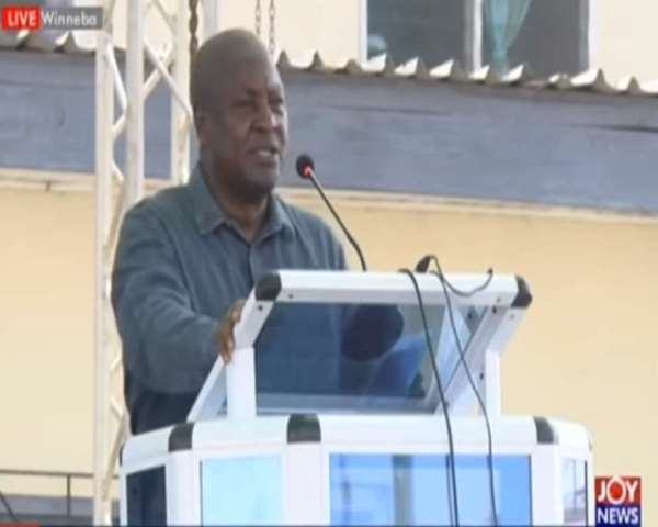 Flag bearer of NDC, John Dramani Mahama