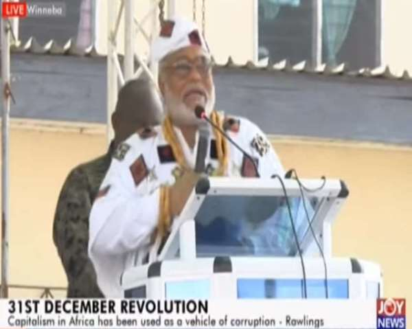 Banking Sector Corruption Cause Of 31st Dec Revolution — Rawlings