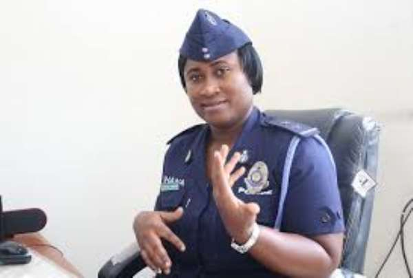 DSP Efia Tenge, Accra Regional PRO
