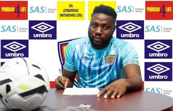 Richard Attah Elated With Hearts of Oak Move